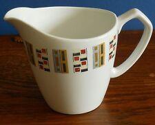 A Vintage Alfred Meakin 1 pint Milk in Glo-White Ironstone Random pattern