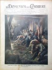 La Domenica del Corriere 5 Dicembre 1909 Canada Miniera Ferrovia Eritrea Colonia