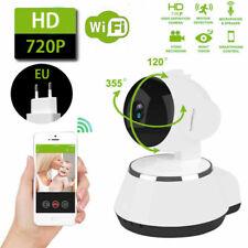 Wireless 720P Pan Tilt Network Ip Camera Ir Night Vision WiFi Webcam Home Cctv
