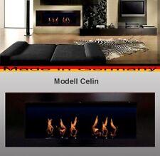 Cheminée Celin-Noir pour Gel ou Ethanol / Fabriqué en Allemagne / fireplace
