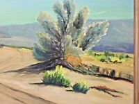 G F Dotson Original Oil Painting Desert Modern Impressionism Vintage Movie Prop