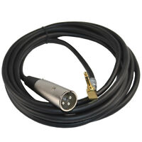 HQRP 3.5mm to XLR Cable for Sony HDR-AX2000 DSP-PD150