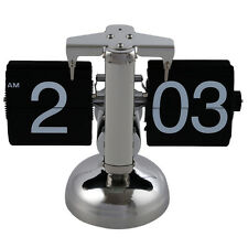 Retro Flip Down Clock - Internal Gear Operated X5Q5