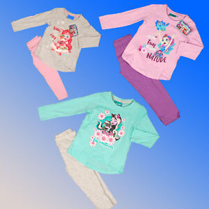 Girls Pyjamas Enchantimals Dolls 3 4 6 8 Years Mattel