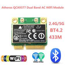 Dual Band Mini PCI-E Wireless 433Mbps WiFi+Bluetooth4.2 802.11ac Network Card SU