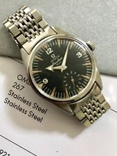 Extremely Rare Omega Ranchero With Original Bracelet & Distinguished Provenance