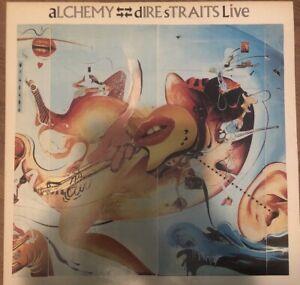 dire straits alchemy vinyl 1984 by Vertigo Records internationally,
