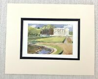 Antique Print The Petit Trianon Palace of Versailles France King Louis XIV 1906