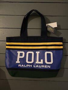 Polo Ralph Lauren Navy Tote Bag