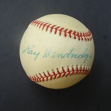 RAY DANDRIDGE Signed  Baseball Autographed certified authentic PSA/DNA   F51534