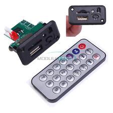 5V/12V Mini MP3 Board USB TF WAV Decoding Board With Amplifier&RemoteControl