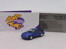 "Minichamps 870069101 # Porsche 911 (964) Turbo Baujahr 1990 "" blaumetal. "" 1:87"