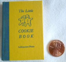 New listing 1960 The Little Cookie Book: Thirty-One Favorite Recipes of a Minibibliophile *
