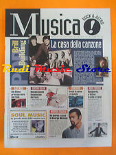 rivista MUSICA! REPUBBLICA 79/1996 George Michael Sly Stone Abbier Hoffman No*cd