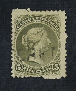 CKStamps: Canada Stamps Collection Scott#26 Victoria Used