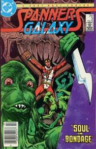 Spanner's Galaxy #3 (Newsstand) VG; DC | low grade comic - save on shipping - de