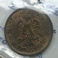 1906 Mexico 2 Centavos - Uncirculated Copper