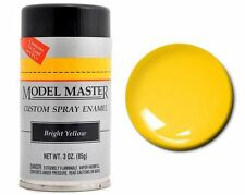 Testors Model Master Automotive Bright Yellow Enamel Spray Paint Can  3 oz. 2917