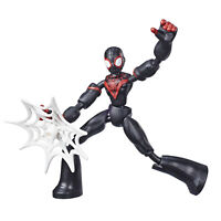 Marvel Spider-Man Bend and Flex Miles Morales 6-Inch Flexible Action Figure