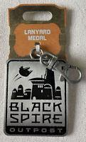 NEW Disney Parks Black Spire Outpost Star Wars Lanyard Medal Pin Trading 2019