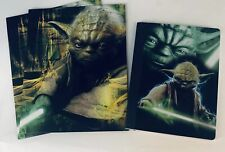 Back To School Supplies Star Wars Yoda 1 Composition Notebooks 2 Folders
