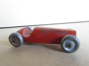 178R Toy Wood Mini Formula 1 Of Years 50 10 F1 Length 2 5/8in