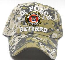 fce40c0f8bda7 Strapback Acrylic Baseball Caps Air Force Hats for Men for sale | eBay