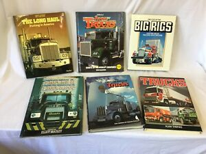 Vintage Hardback Truck Books X 6