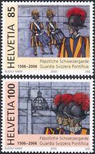 Suisse 2005 Swiss Papal Guard/militaires/uniformes/soldats/armée 2 V Set n46061
