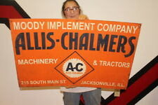 Large Allis Chalmers Farm Machinery & Tractors Feed Seed Gas Oil 36