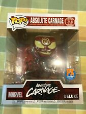 Funko Pop Marvel Heroes Absolute Carnage 673 Deluxe PX Previews