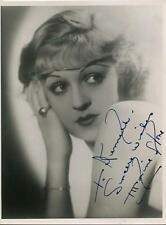 MAXINE STONE ACTRESS IN VITAPHONE SHORTS / HERES HOWE SIGNED PHOTO AUTOGRAPH
