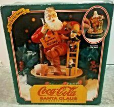 Coca-Cola Santa Claus Mechanical Bank Vintage w/ Certificate of Authenticity COD