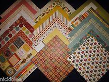 12X12 Scrapbook Paper Cardstock DCWV Kidlet Stack Kids Preschool Daycare Toys 24