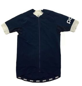 POC Wind Rain Cycling Jersey Short Sleeve Mens Size L Black Full Zip