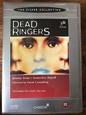 Jeremy Irons Genevieve Bujold DEAD RINGERS ~ 1988 David Cronenberg Horror UK DVD