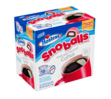 Hostess Sno Balls Flavored Single Serve Coffee Cups - 18 Count LIMITED EDITION