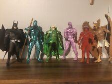 Set of DC Direct Alex Ross Kingdom Come & Justice Action Figures