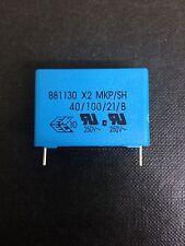 x10 NEW EPCOS B81130C1105M , FILM Capacitor , 1UF 20%  RADIAL 275V AC