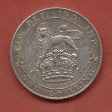 ONE SHILLING 1914 +  1915  ARGENT GEORGES V