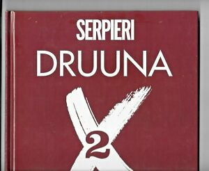 Druuna X 2 by Serpieri 1998 GN 70 pp Hardcover Heavy Metal Parny VF 1882931416