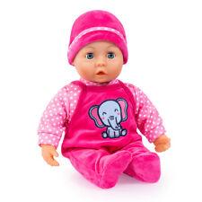 Sweet Baby pink 38 cm  93824CA Weichkörperpuppe Schnuller Flasche Puppe Bayer