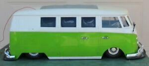 "HUGE RARE 1:6 VW VOLKSWAGEN BUS HERBIE THE LOVE BUG Radio Control Car~32"" LONG"