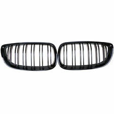 Pair Front Vent Kidney Grille Grill Fit BMW E90 E92/E93 M3 2006-2013 Gloss Black