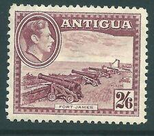 ANTIGUA 1938 George VI mint 2/6 Brown-Purple SG106