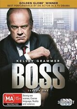 Boss : Season 1 (DVD, 2014, 3-Disc Set)  DVD Region 4 (VG Condition)