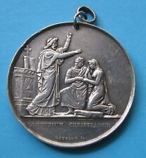 Connubum Christianum Medaglia in Argento - incisione di Gayrard F.