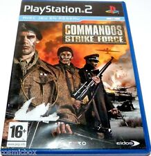 PlayStation 2 jeu video COMMANDOS STIKE FORCE action console sony ps2 bon état