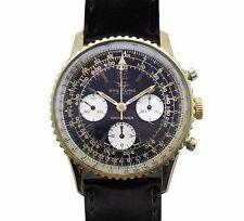 Vintage 60's Breitling Navitimer 806 Military Pilots Chronograph Venus 178