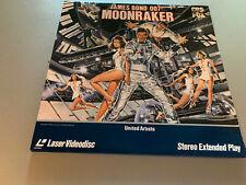 James Bond 007 Moonraker LaserDisc Extended Play Laser Disc LD Roger Moore